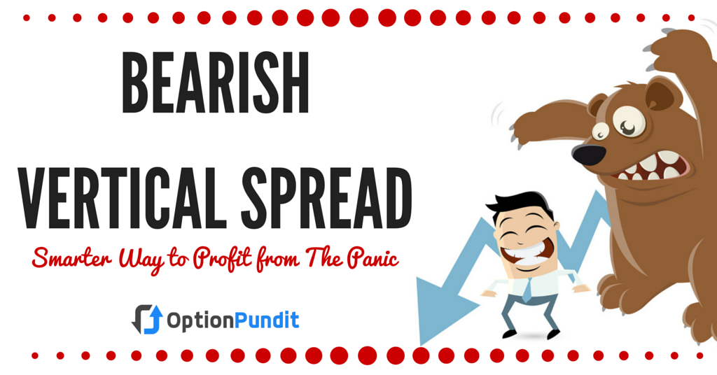 Vertical spread option trading strategy